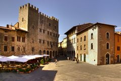 Market place, Italy Stock Photography