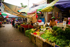 Market place in Jakarta, Indonesia Stock Images