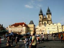 Market Place a Praga 4 Fotografia Stock