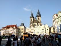 Market Place in Prague 5 Stock Photos
