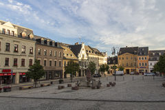 Market place of Reichenbach (Vogtland), Germany, 2015 Royalty Free Stock Photography