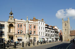 Market Place Square, Reading, Berkshire Stock Photography