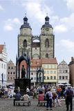 Market place of Wittenberg Royalty Free Stock Photo