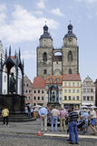 Market place of Wittenberg Royalty Free Stock Photos