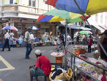 Market in Port Louis, Mauritius Royalty Free Stock Photography