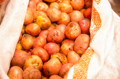 Market potatoes Royalty Free Stock Image