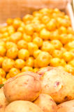 Market potatoes Royalty Free Stock Photography