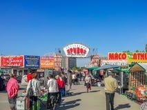 Market. Privoz in the city of Rostov-on-Don Royalty Free Stock Image