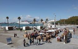 Market in Malaga, Spain Royalty Free Stock Photo