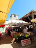 Market in Pujols Royalty Free Stock Image