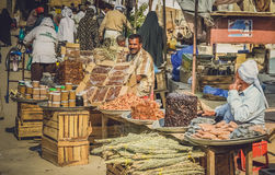 Market in Queshm Royalty Free Stock Photography