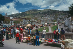 Market, Quito Stock Photo