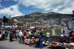 Market in Quito Royalty Free Stock Photography