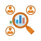 Market Research Icon. Design for any uses vector illustration