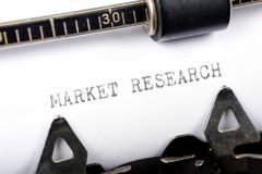 Market Research Stock Images