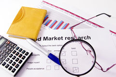Market research Stock Image