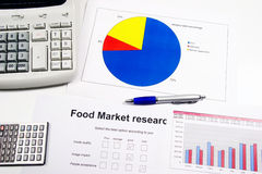 Market research Royalty Free Stock Photo
