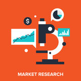 Market research Royalty Free Stock Images