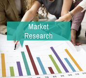 Market Research Analysis Consumer Marketing Strategy Concept Royalty Free Stock Images