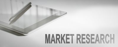 MARKET RESEARCH Business Concept Digital Technology. Graphic Concept stock images