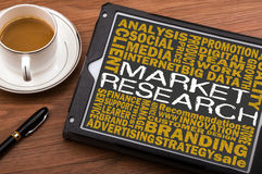 Market research concept Royalty Free Stock Photo