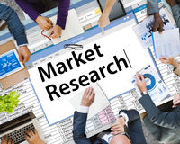 Market Research Consumer Needs Feedback Concept.  Stock Image