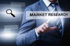 Market Research Marketing Strategy Business Technology Internet concept Stock Photo