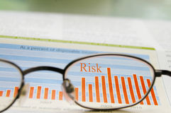 Market risk Stock Images