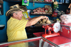Market in Rivera - Colombia Royalty Free Stock Photo