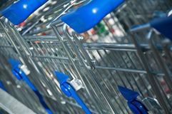 Market's trolley Stock Photography