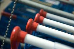Market's trolley Royalty Free Stock Photos