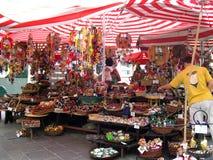 The Market in Salzburg Austria Stock Photo