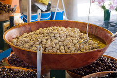 Market in Sarlat Royalty Free Stock Photo