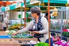 Market scene, Arras Stock Photography