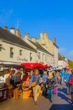 Market scene in Beaune Royalty Free Stock Photos