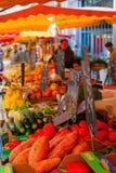 Market scene in Dijon Royalty Free Stock Photo