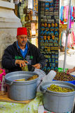 Market Scene, Nazareth Stock Photography