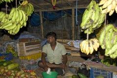 Market scene, Phuentsoling, Bhutan Stock Photography