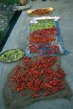 Market scene, Phuentsoling, Bhutan Royalty Free Stock Photos