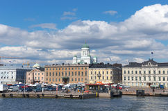 Market by the sea,Helsinki Stock Photography