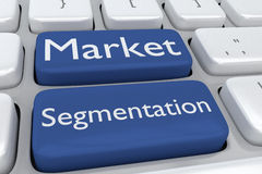 Market Segmentation concept Royalty Free Stock Images