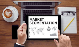 MARKET SEGMENTATION Royalty Free Stock Photography