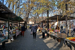 Market, Senta, Serbia Royalty Free Stock Image