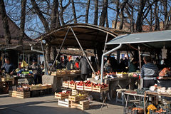 Market, Senta, Serbia Royalty Free Stock Photo