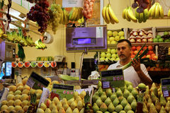 At the market in Seville Royalty Free Stock Images