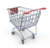 Market shopping cart 3D.  Stock Photography