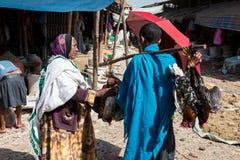 Market in the slums of bahir dar, Ethiopia, EDITORIAL. Market in the slums of bahir dar, Ethiopia Stock Photos