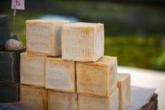 Market soap Provence France Royalty Free Stock Photo