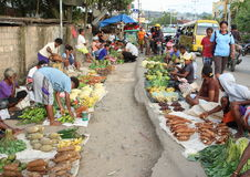 Market in Sorong. Traditional farmers market in Sorong (Papua Barat, Indonesia Stock Photo