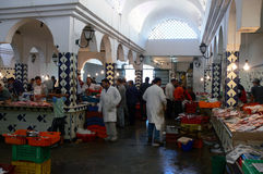 Market in Sousse Stock Image